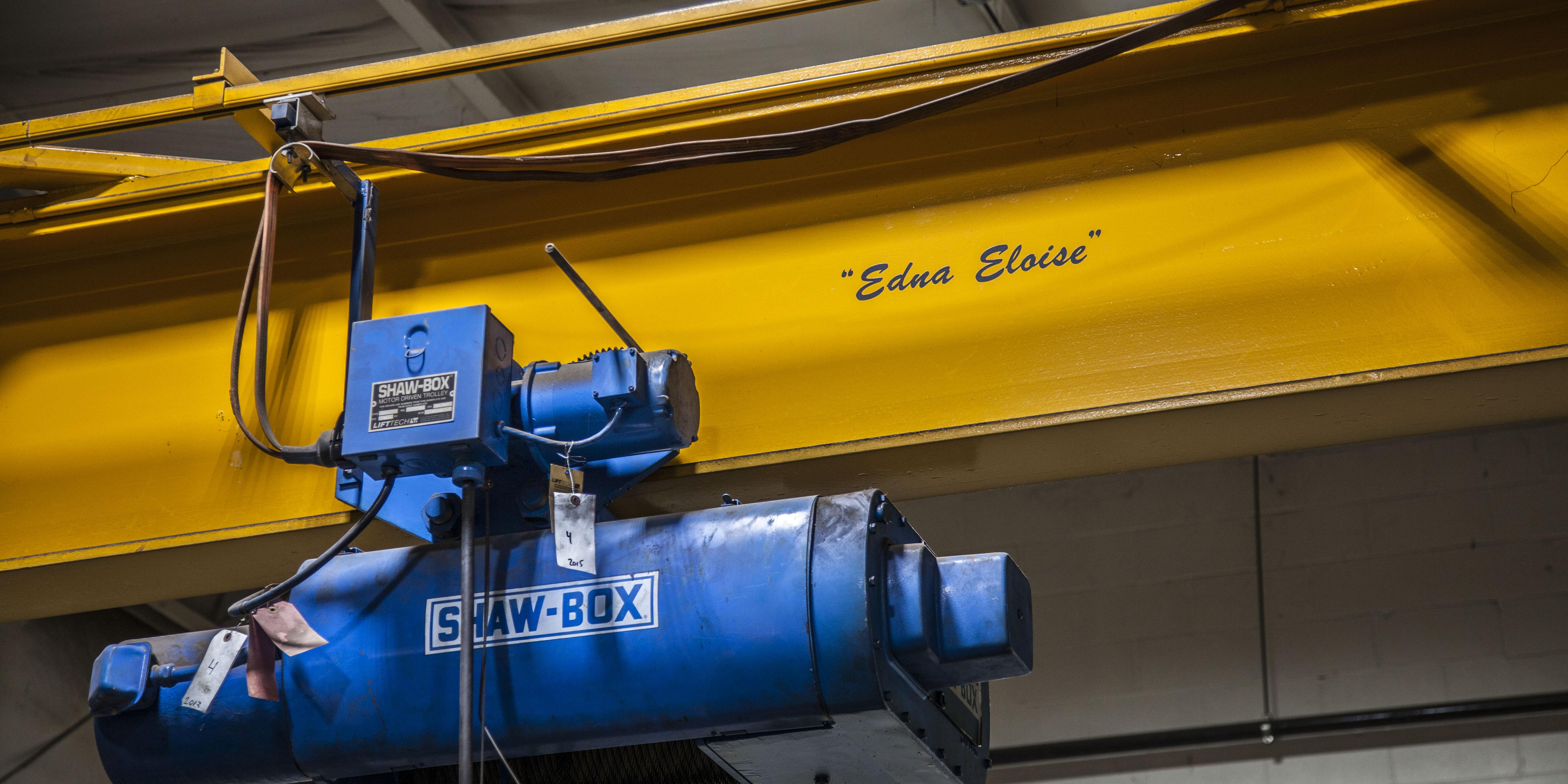 Crane named after Edna