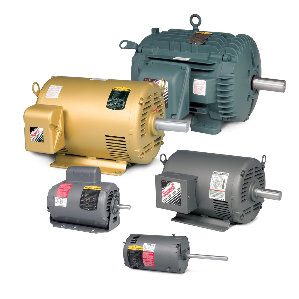 Baldor electric abb brand spotlight brehob news for Baldor industrial motor parts