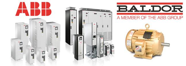 Save on ABB, Baldor and Baldor-Reliance Motors Today!