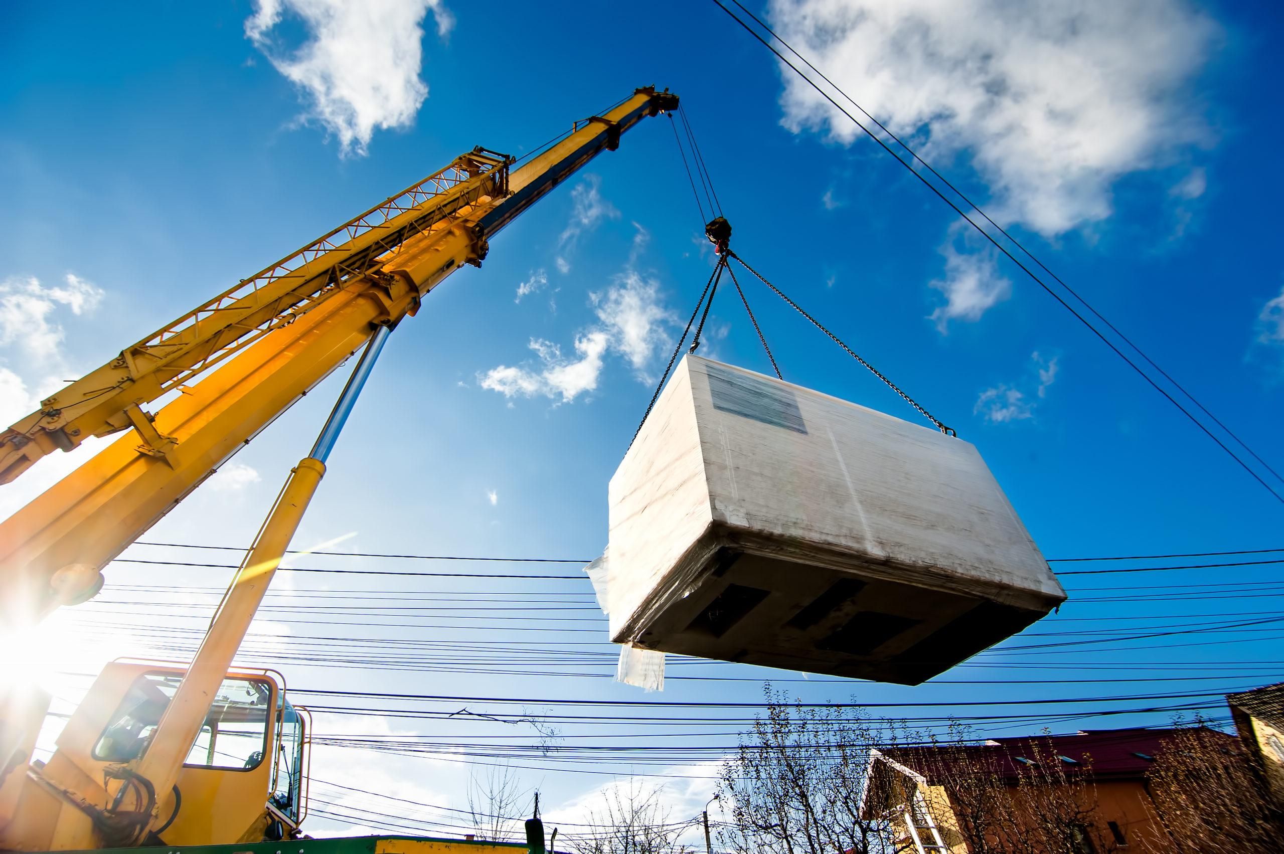 industrial crane lifting materials