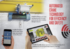 Automated crane technology for efficiency and safety